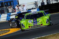 #75 Krohn Racing Ford/Lola of Tracy Krohn, Nic Jonsson, Ricardo Zonta & Colin Brawn