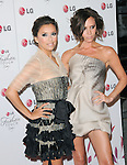 Eva Longoria Parker & Victoria Beckham at A Night of Fashion & Technology with LG Mobile Phones hosted by Eva Longoria & Victoria Beckham held at SoHo House in West Hollywood, California on May 24,2010                                                                   Copyright 2010  DVS / RockinExposures