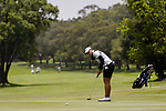 Chatprapa Siriprakob of Thailand during the first round of the EFG Hong Kong Ladies Open at the Hong Kong Golf Club Old Course on May 11, 2018 in Hong Kong. Photo by Marcio Rodrigo Machado / Power Sport Images