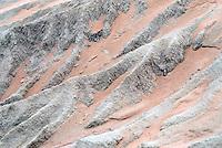 Erosie landschap. Mungo National Park, Australië