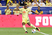 Harrison, NJ - Wednesday July 06, 2016: Alex Ibarra during a friendly match between the New York Red Bulls and Club America at Red Bull Arena.