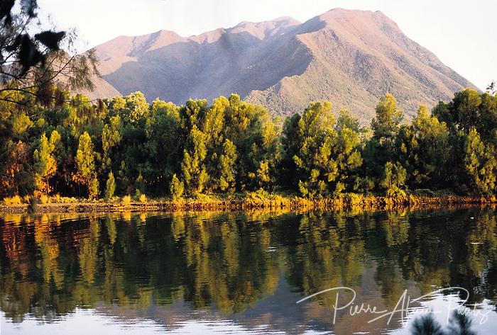 Le mont Dore et la rivière la coulée