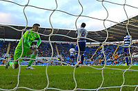 Reading keeper Rafael Cabral looks distraught after Mallik Wilks of Hull City scores the equaliser to make the score 1-1 Reading during Reading vs Hull City, Sky Bet EFL Championship Football at the Madejski Stadium on 8th February 2020