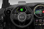 Car pictures of steering wheel view of a 2020 MINI MINI-Electric Cooper-SE-L 2 Door Hatchback Steering Wheel