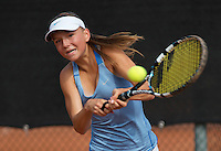 August 6, 2014, Netherlands, Rotterdam, TV Victoria, Tennis, National Junior Championships, NJK,  Perla Nieuwboer (NED)<br /> Photo: Tennisimages/Henk Koster