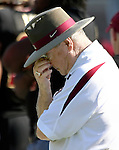 Florida State University head coach Bobby Bowden expresses his feelings in the first half of the FSU vs Boston College game October 21, 2006 at Bobby Bowden Field in Tallahassee, Florida. (Mark Wallheiser/TallahasseeStock.com)