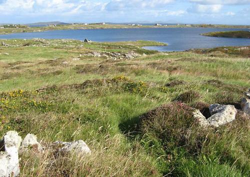 File image of Aughrusbeg Lough in Connemara