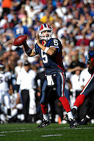21 October 2007: Buffalo Bills quarterback Trent Edwards in action against the Baltimore Ravens at Ralph Wilson Stadium in Orchard Park, NY. The Bills defeated the Ravens 19-14 in front of 70,727 fans marking their second win of the 2007 season...Mandatory Photo Credit: Ed Wolfstein Photo