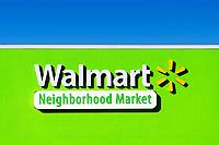 WalMart Neighborhood Market store,  Orlando, Florida, USA., USA.