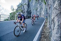 Petr Vakoc  (CZE/Alpecin-Fenix) descending towards Onno.<br /> <br /> 114th Il Lombardia 2020 (1.UWT)<br /> 1 day race from Bergamo to Como (ITA/231km) <br /> <br /> ©kramon