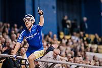 Kenny De Ketele (BEL/SportVlaanderen-Baloise)<br /> <br /> zesdaagse Gent 2019 - 2019 Ghent 6 (BEL)<br /> day 2<br /> <br /> ©kramon