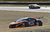 IMSA WeatherTech SportsCar Championship<br /> AMERICA'S TIRE 250<br /> Mazda Raceway Laguna Seca<br /> Monterey, CA USA<br /> Sunday 24 September 2017<br /> 86, Acura, Acura NSX, GTD, Oswaldo Negri Jr., Jeff Segal<br /> World Copyright: Richard Dole<br /> LAT Images<br /> ref: Digital Image RD_LS_17_261