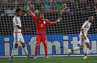 Guillermo Ochoa portero de Mexico  ,durante partido entre las selecciones de Mexico y Guatemala  de la Copa Oro CONCACAF 2015. Estadio de la Universidad de Arizona.<br /> Phoenix Arizona a 12 de Julio 2015.
