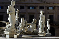 Fontana Pretoria in Palermo, Sizilien, Italien