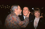 """NINO MANFREDI ED ALBERTO SORDI ED ERMINIA FERRARI MANFREDI<br /> PREMIERE """"C'ERAVAMO TANTO AMATI"""" VERSIONE RESTAURATA - CINEMA EMPIRE ROMA 2001"""