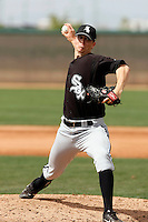 Johnnie Lowe -  Chicago White Sox - 2009 spring training.Photo by:  Bill Mitchell/Four Seam Images