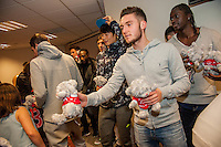 Tuesday  15 December 2015<br /> Pictured: Matt Grimes<br /> Re: Kids SCFC Christmas Party at the Liberty Stadium, Swansea