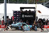 NASCAR Xfinity Series<br /> ToyotaCare 250<br /> Richmond International Raceway, Richmond, VA USA<br /> Saturday 29 April 2017<br /> Matt Tifft, Wastebits Toyota Camry pit stop<br /> World Copyright: Matthew T. Thacker<br /> LAT Images<br /> ref: Digital Image 17RIC1mt1503