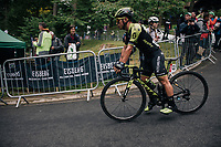 Caleb Ewan (AUS/Michelton-Scott) after finishing<br /> <br /> Stage 6: Barrow-in-Furness to Whinlatter Pass   (168km)<br /> 15th Ovo Energy Tour of Britain 2018