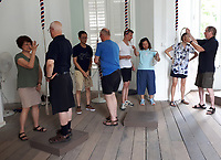 BNPS.co.uk (01202 558833)<br /> Pic:  BNPS<br /> <br /> Beginner ringers at St Andrew's Cathedral in Singapore - learning to ring in the English style<br /> <br /> The first English 'ring of bells' in Asia has been hung and rung as the unique art<br /> form continues to spread around the globe.<br /> There are now hangs in St Andrew's Anglican Cathedral in Singapore a 'ring of 12'<br /> that is tuned and hung to be used in the full-circle change-ringing style.<br /> Experienced campanologists are training locals in the art, known as The Exercise,<br /> so this English sound can be heard regularly in the city-state.