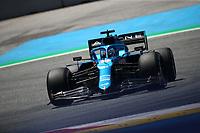 #14 Fernando Alonso, Alpine. Formula 1 World championship 2021, Austrian GP July 3rd 2021<br /> Photo Federico Basile / Insidefoto