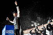 NASCAR Camping World Truck Series<br /> Stratosphere 200<br /> Las Vegas Motor Speedway, Las Vegas, NV USA<br /> Friday 2 March 2018<br /> Kyle Busch, Kyle Busch Motorsports, Toyota Tundra Cessna celebrates his win<br /> World Copyright: Nigel Kinrade<br /> NKP / LAT Images