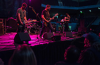 140914-JRE-7981E-0801 - The band Thera performs at Howlapalooza, a local Music and Arts Festival to celebrate the grand opening of the Alaska Airlines Center. Photo by James R. Evans
