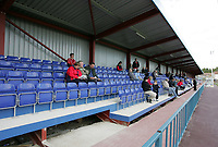 Main stand at the New Rec shortly after construction - Grays Athletic Football Club - 09/10/04 - MANDATORY CREDIT: Gavin Ellis/TGSPHOTO