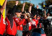 Doug Kalitta, Mac Tools, top fuel, victory, celebration, trophy, crew