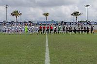 LAKEWOOD RANCH, FL - December 1, 2016: U-17/18 Lonestar SC vs  Sacramento Republic FC. 2016 Nike International Friendlies at Premier Sports Campus.