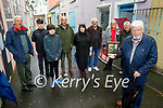 The Wall family standing in Blackpool Lane where there uncle Tommy Wall was shot dead by the Black and Tans 100 years ago on November 2nd.<br /> Front right: Cllr Johnny Wall.<br /> Back l to r: Edward, Ruben, Alan, Michael, Rebekah, Tom, Kathleen and Joe Wall.