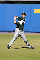 Michigan State Spartans Jeff Kinley #28 during a game vs the Akron Zips at Chain of Lakes Park in Winter Haven, Florida;  March 12, 2011.  Michigan State defeated Akron 5-1.  Photo By Mike Janes/Four Seam Images