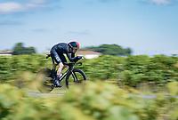 Geraint Thomas (GBR/Ineos Grenadiers)<br /> <br /> Stage 20 (ITT) from Libourne to Saint-Émilion (30.8km)<br /> 108th Tour de France 2021 (2.UWT)<br /> <br /> ©kramon