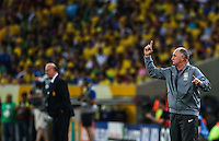 RIO DE JANEIRO, 30.06.2013 - COPA DAS CONFEDERAÇÕES - FINAL - BRASIL X ESPANHA - Luis Felipe Scolari do Brasi em partida contra a Espanha na final da Copa das Confederações Estádio do Maracanã, na zona norte do Rio de Janeiro, neste domingo, 30. (Foto: William Volcov / Brazil Photo Press).
