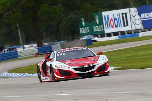 Racers Edge Motorsports Acura NSX GT3 Evo:Taylor Hagler, Dakota Dickerson