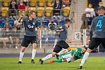 12.09.2020, Ernst-Abbe-Sportfeld, Jena, GER, DFB-Pokal, 1. Runde, FC Carl Zeiss Jena vs SV Werder Bremen<br /> <br /> Leonardo Bittencourt  (Werder Bremen #10)<br /> Verletzung / verletzt / Schmerzen<br /> <br /> <br /> <br />  <br /> <br /> <br /> Foto © nordphoto / Kokenge