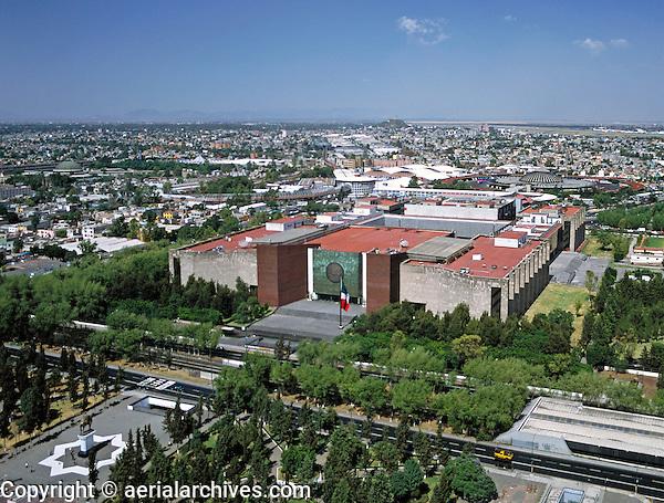 aerial photograph of the Mexican legislative palace Mexico City | fotografía aérea del Palacio Legislativo Mexicano, Ciudad de México