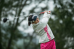 Han Sol Ji of South Korea tees off at the 16th hole during Round 3 of the World Ladies Championship 2016 on 12 March 2016 at Mission Hills Olazabal Golf Course in Dongguan, China. Photo by Victor Fraile / Power Sport Images
