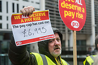 PCS pay cap protest with John McDonnell 31-1-18