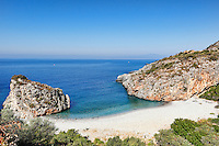 Foneas beach in Mani, Greece
