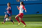 Liga IBERDROLA 2020-2021. Jornada: 10<br /> FC Barcelona vs Santa Teresa: 9-0.<br /> Lieke Martens vs Marta Parralejo.