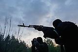 """Pro-ukrainische Milizeinheit """"Bataillon Donbass"""""""