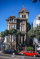 San Francisco, California, USA. Westerfield House, Built 1889.