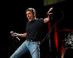 Roger Daltrey of The Who performs at the Toyota Center Saturday Nov. 18,2006 in Houston,Texas.
