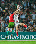 Canada vs Portugal during the Cathay Pacific / HSBC Hong Kong Sevens at the Hong Kong Stadium on 28 March 2014 in Hong Kong, China. Photo by Andy Jones / Power Sport Images
