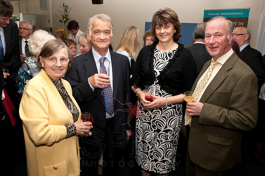 From left: Mary and Philip Ryder-Davies and Sally and Charles Horrell