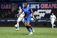 Dennis Adeniran of Everton u23's in action during the Premier League Cup: Semi Final match between Swansea City and Everton at the Liberty Stadium in Swansea, Wales, UK.  Saturday 04 May 2019