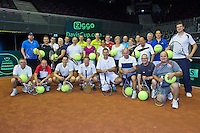 September 11, 2014, Netherlands, Amsterdam, Ziggo Dome, Davis Cup Netherlands-Croatia, Ziggo Clinic<br /> Photo: Tennisimages/Henk Koster