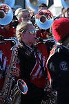 December 30, 2016: A Georgia band member warming up before the kickoff of the AutoZone Liberty Bowl at in Memphis, Tennessee. ©Justin Manning/Eclipse Sportswire/Cal Sport Media