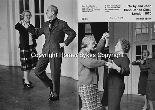 Darby and Joan Blind Dance Class London 1970.  Cafe Royal Books published February 2019.<br /> <br /> Copies available. £10-00 including p&p.